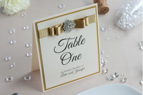Allure Table Number