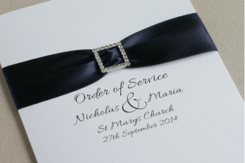 Beauty Order of Service