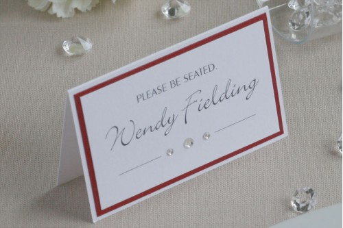 Bliss Place Card