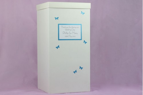 Butterfly Wedding Post Box