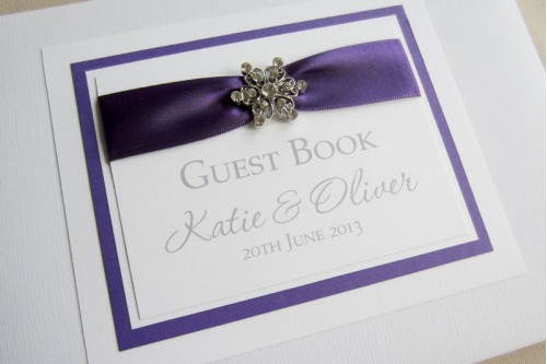 Chic Guest Book
