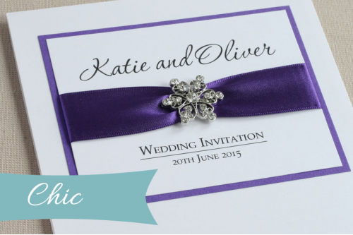 Chic Wedding Invitation