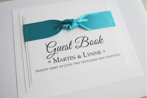 Glamour Guest Book