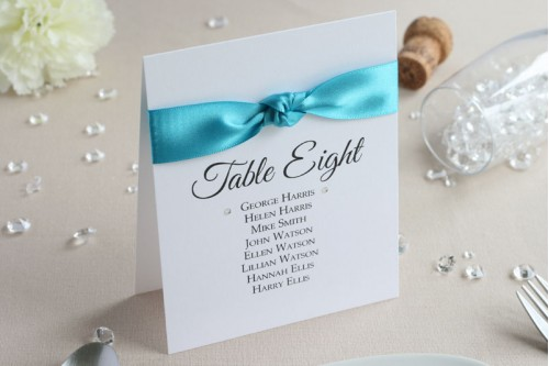 Glamour Table Number