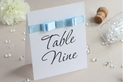 Honour Table Number