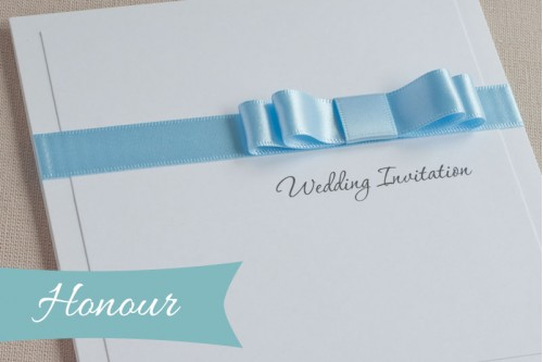 Honour Wedding Invitation