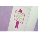 Ribbon Wedding Post Box