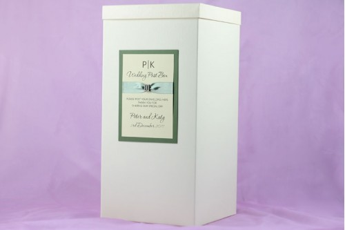 Sparkle Wedding Post Box