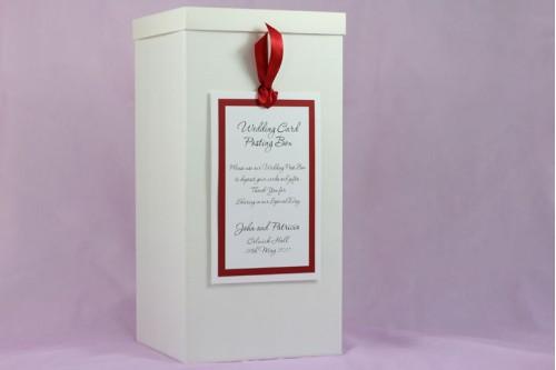 Tag Wedding Post Box